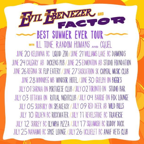 Evil Factor tour banner